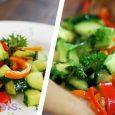 Cucumber Avocado Salad