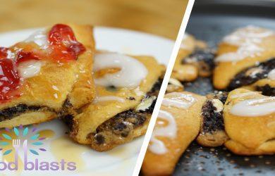 Cookie Brownie Turnovers