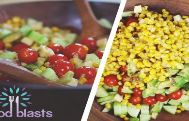 Cucumber and Corn Summer Salad