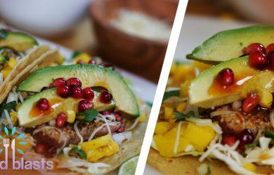 Seared Ahi Tuna Spicy Tacos