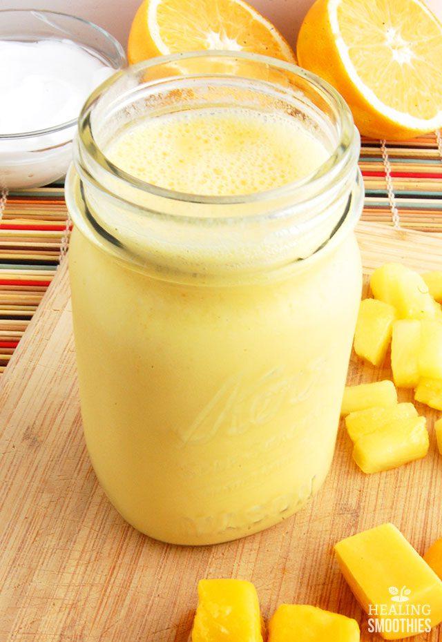 Pineapple Mango Smoothie1