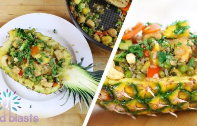 Pineapple Vegan Fried Rice