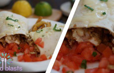 Chicken Waffle Burrito