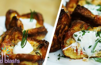 Pizza French Toast Cup