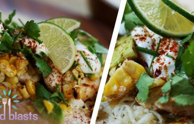 Street Corn Chipotle Chicken Wrap