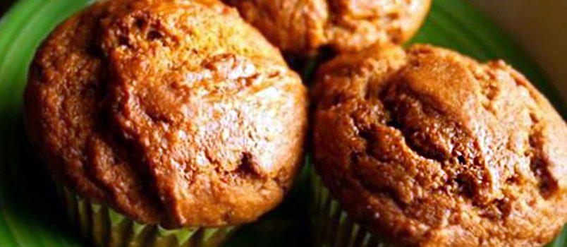 flourless sweet potato muffins