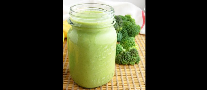green broccoli smoothie recipe
